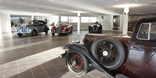 Picture of showroom